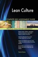 Lean Culture Complete Self-Assessment Guide