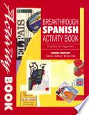 Breakthrough Spanish Activity Book