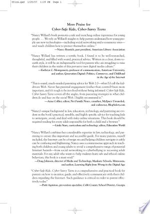 [pdf - epub] Cyber-Safe Kids, Cyber-Savvy Teens - Read eBooks Online