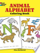 Animal Alphabet Coloring Book Book