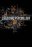 Foundations of Cognitive Psychology ebook