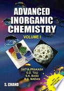 Advanced Inorganic Chemistry   Volume I Book