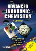 Advanced Inorganic Chemistry - Volume I [Pdf/ePub] eBook
