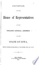 Journal of the House of Representatives of the     Regular Session of the General Assembly of the State of Iowa Book PDF
