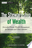 The Stewardship Of Wealth