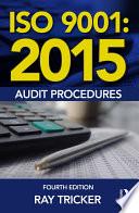 ISO 9001 2015 Audit Procedures Book
