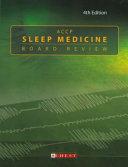 ACCP Sleep Medicine Board Review Book