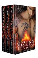 Sizzling Dragons Box Set (Books 1-3: Fallen Immortals)—Dragon Shifter Paranormal Romance Pdf/ePub eBook