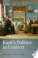 Kant S Politics In Context