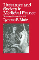 Literature and Society in Medieval France