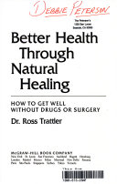 Better Health Through Natural Healing