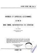 Handbook Of Supersonic Aerodynamics