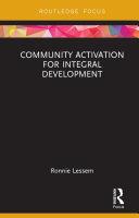 Community Activation for Integral Development