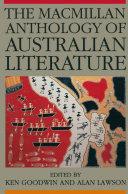 The Macmillan Anthology of Australian Literature