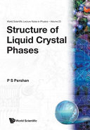Structure of Liquid Crystal Phases