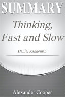 Summary of Thinking  Fast and Slow