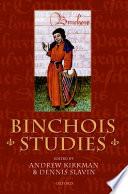 Binchois Studies