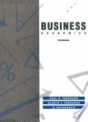 Business Economics Book
