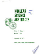 Nuclear Science Abstracts Book PDF