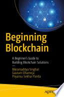 Beginning Blockchain Book PDF