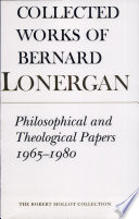 Philosophical And Theological Papers 1965 1980