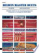 Belwin Master Duets (Flute), Vol 1: Advanced