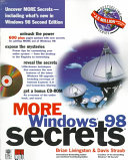 MORE Windows  98 Secrets