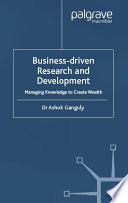 Business Driven Research   Development Book