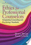 Ethics For Counselors Book PDF