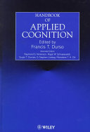 Handbook of applied cognition