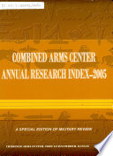 Combined Arms Center Cac Research And Publication Index