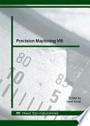 Precision Machining Viii Book PDF