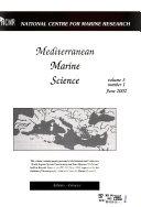 Mediterranean Marine Science