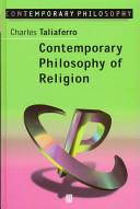 Contemporary Philosophy of Religion Book PDF