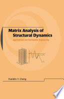Matrix Analysis of Structural Dynamics