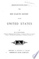 The New Eclectic History of the United States Book PDF