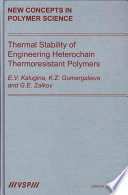 Thermal Stability of Engineering Heterochain Thermoresistant Polymers