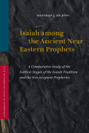 Isaiah Among The Ancient Near Eastern Prophets