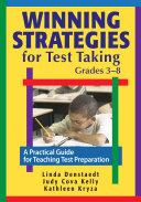 Winning Strategies for Test Taking, Grades 3-8 Pdf/ePub eBook