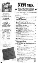 Hydrocarbon Processing   Petroleum Refiner Book