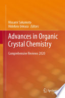 Advances in Organic Crystal Chemistry Book