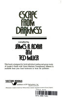 Escape from Darkness Book