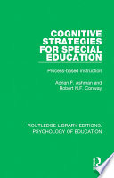 Cognitive Strategies for Special Education