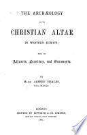 The Archaeology of the Christian Altar in Western Europe