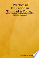 Practice of Education in Trinidad & Tobago