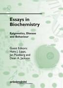 Epigenetics  Disease and Behaviour Book