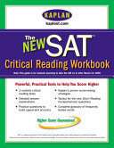 Kaplan New SAT Critical Reading Workbook