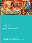 Pdf Fifty Key Anthropologists Telecharger