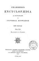 Pdf Chamber's Encyclopædia