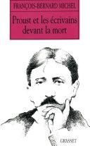 Pdf Proust et les écrivains devant la mort Telecharger